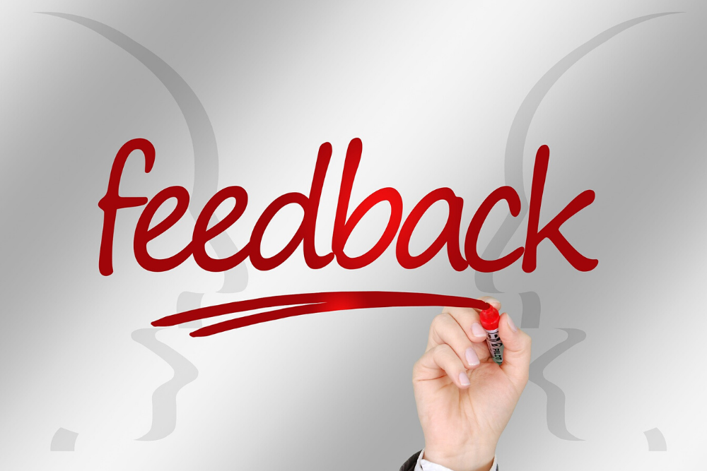 Acknowledge feedback