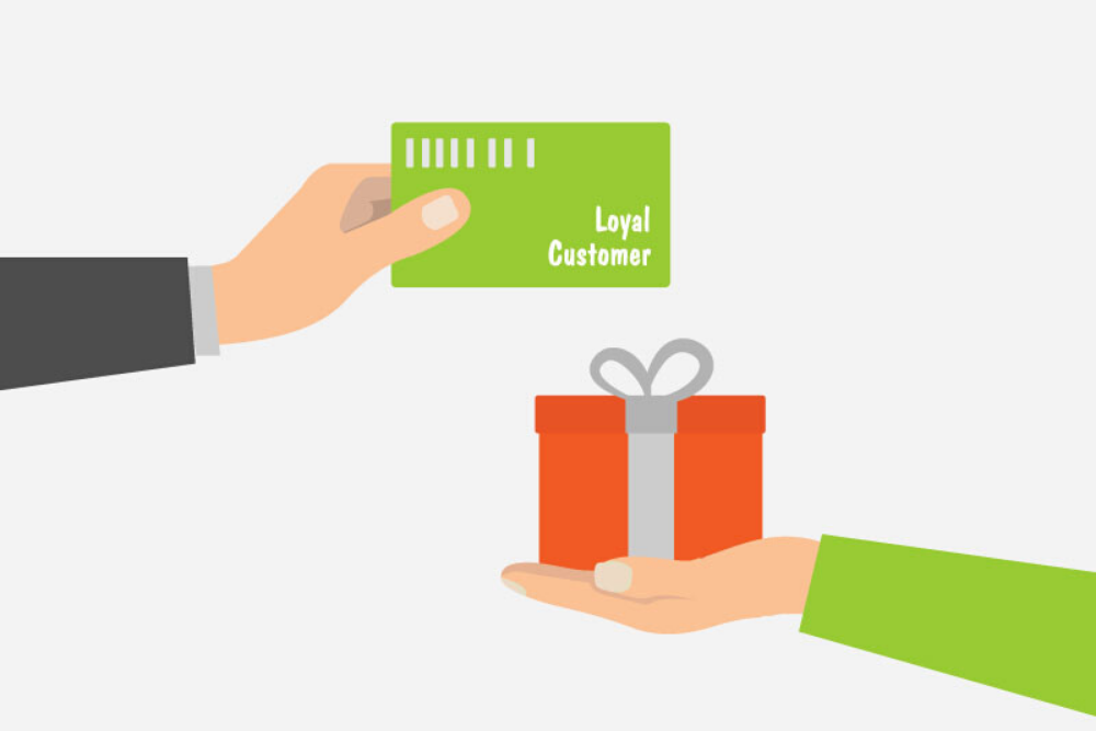 Give rewards to potential customers