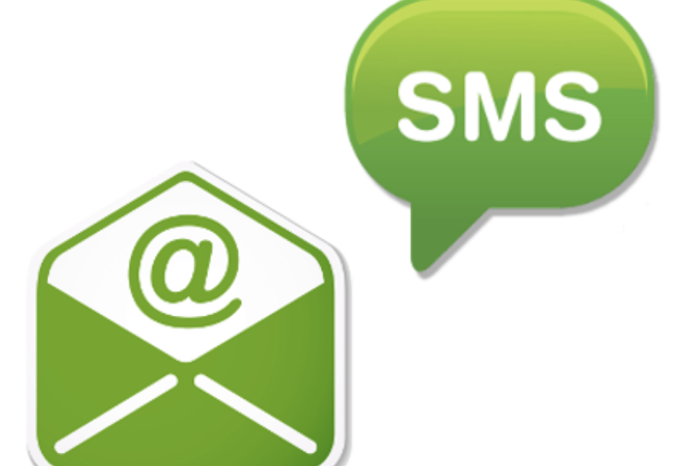 Email And SMS Reminders