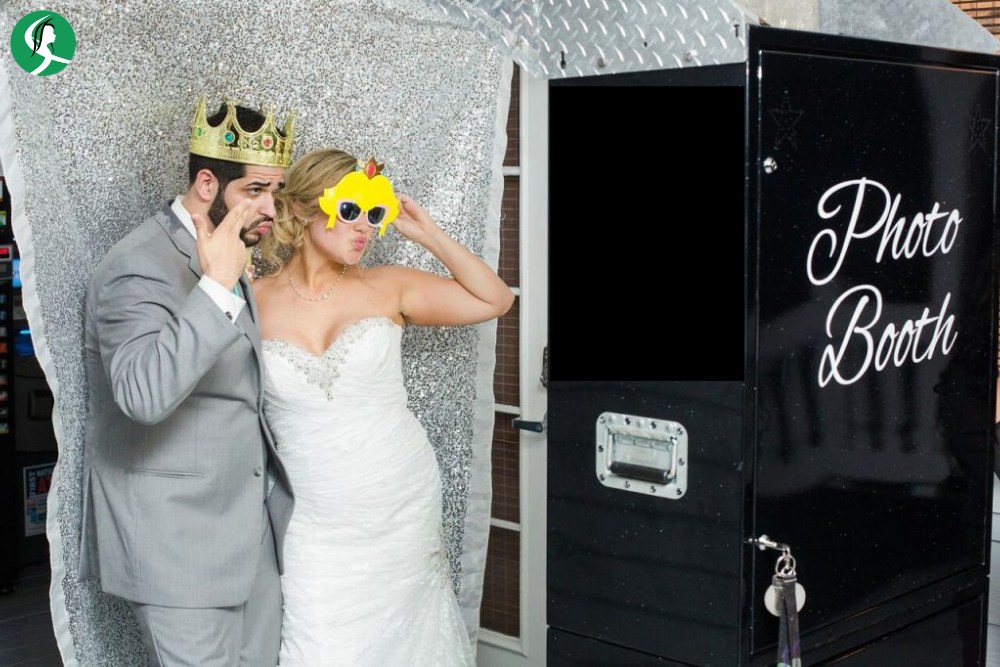 Make a photo booth area in the Salon