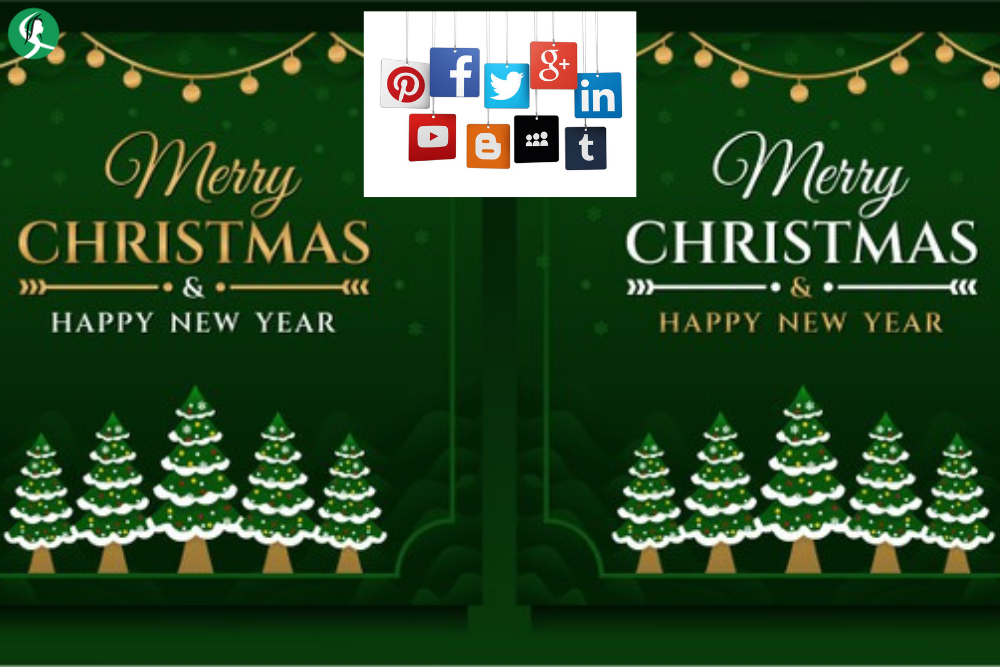 Think About Social Media Festive Decorations