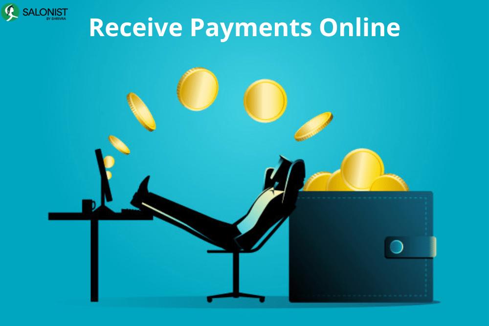Receive payments online