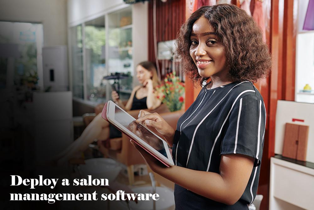 Deploy a salon management software