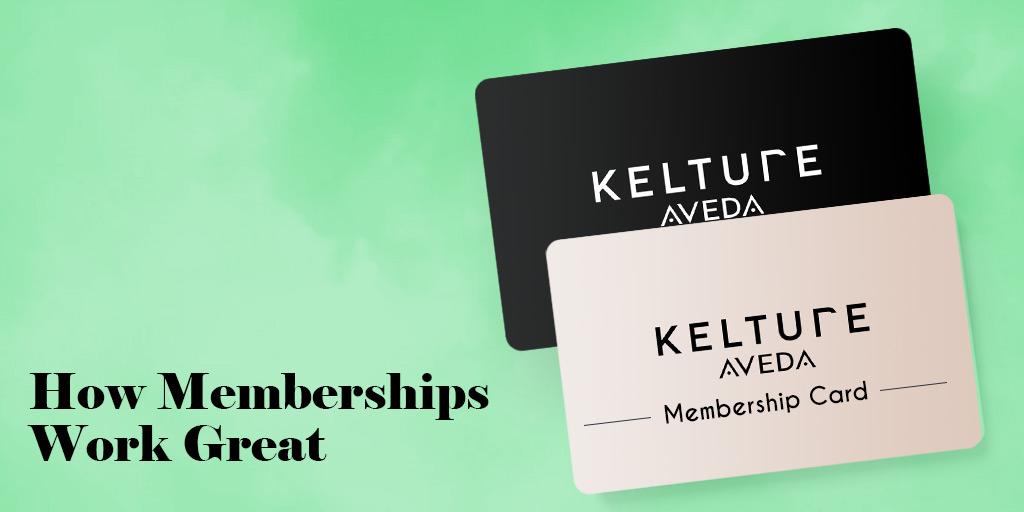 Memberships work great