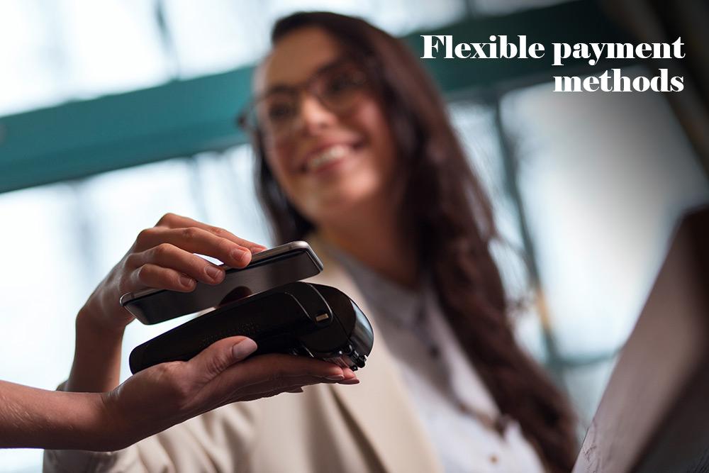 Flexible-payment-methods