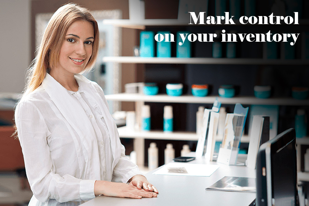Mark control on your inventory