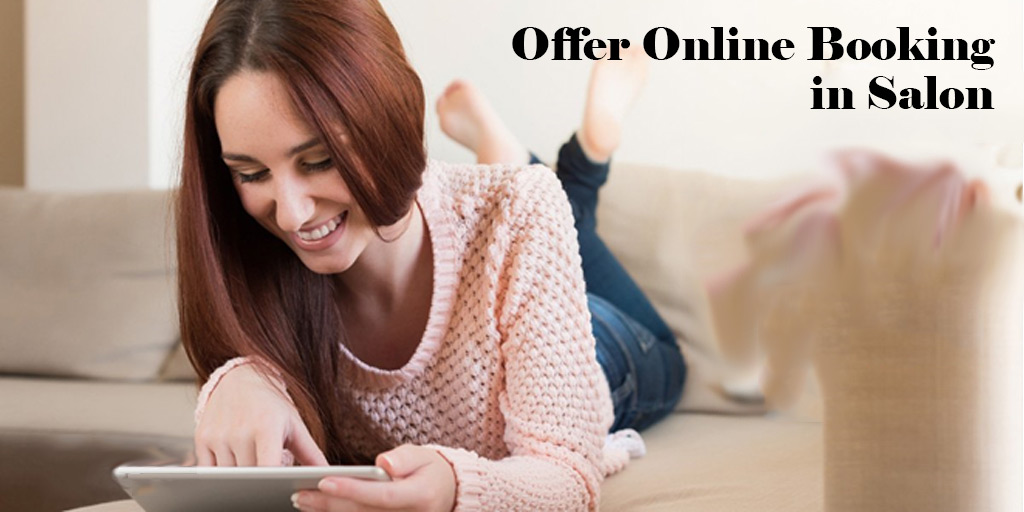 Why do you want to offer online booking in Salon?