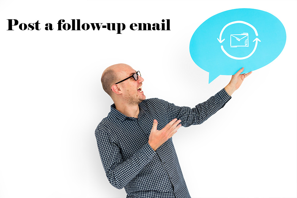 Post follow up email