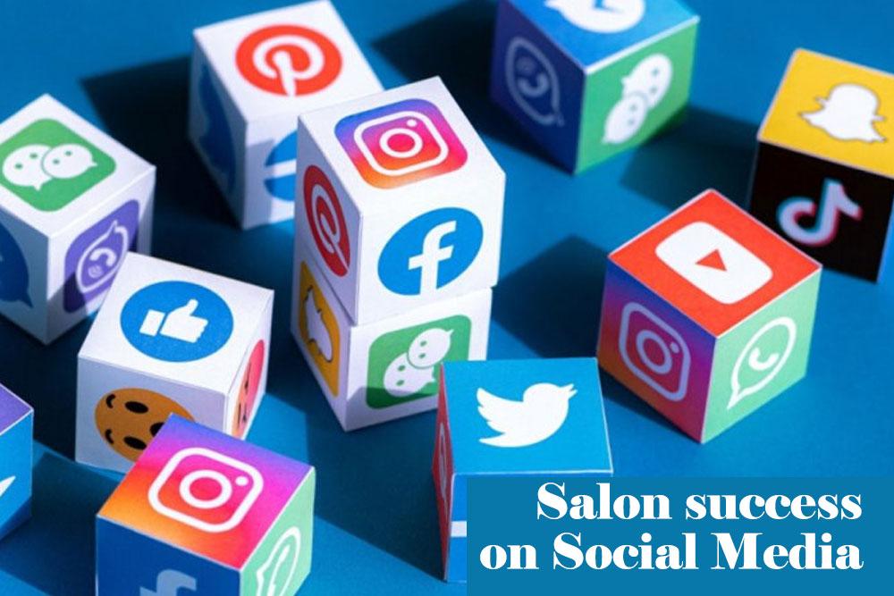 Salon success on Social Media