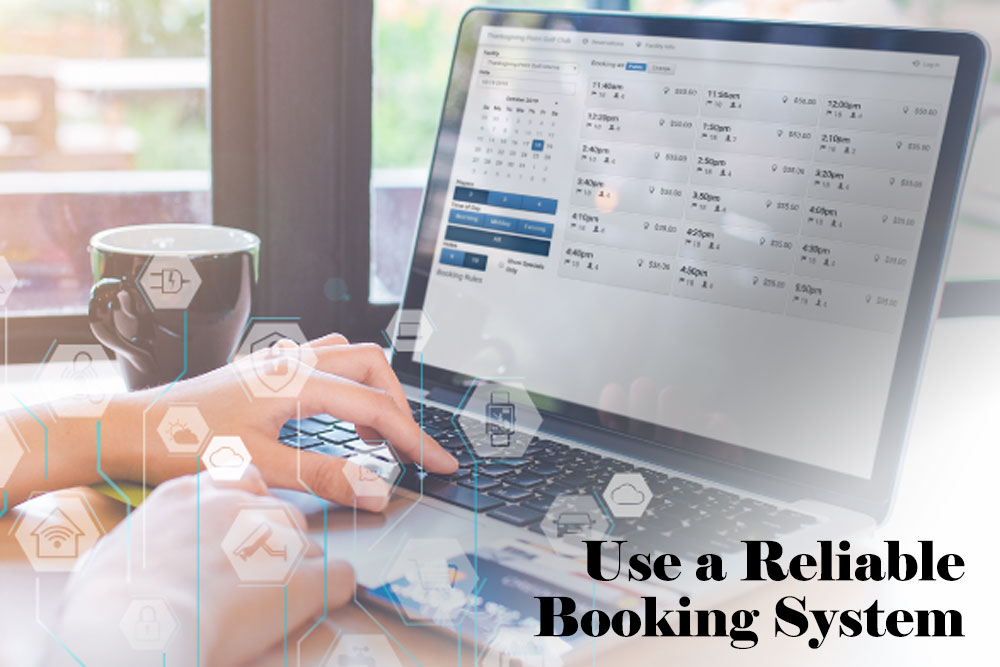 Use booking system