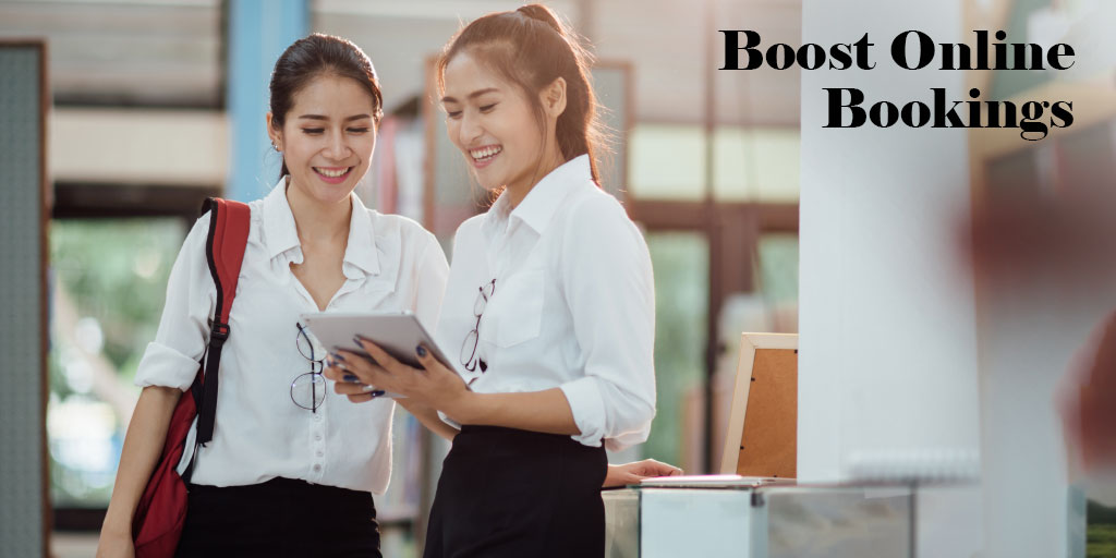 8 Ways to Boost Online Bookings in your business