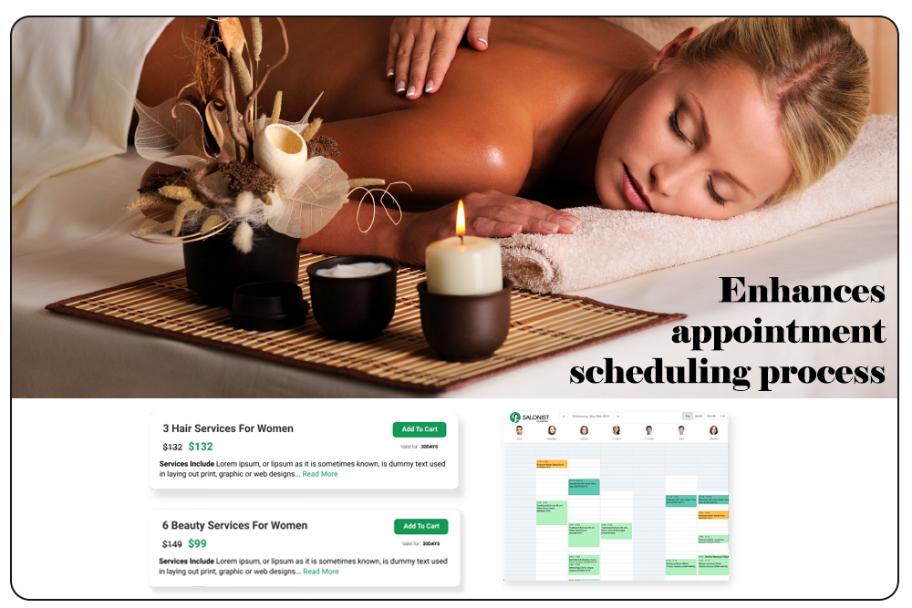 Enhances appointment scheduling process