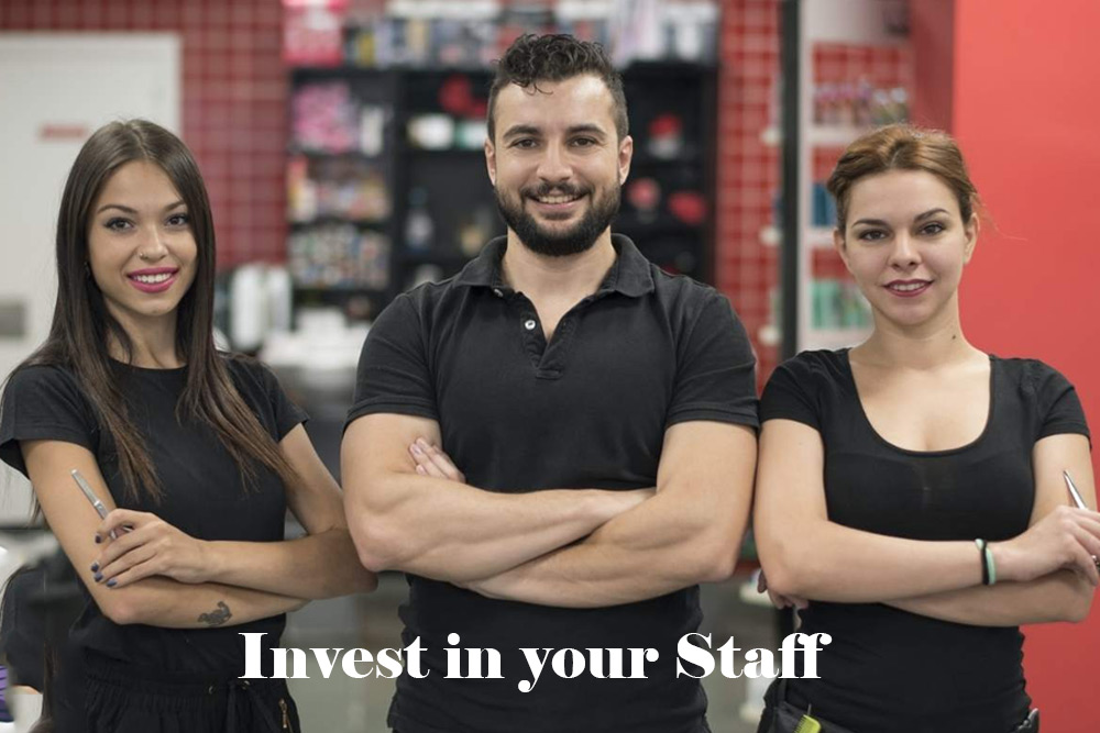 Invest in your Staff