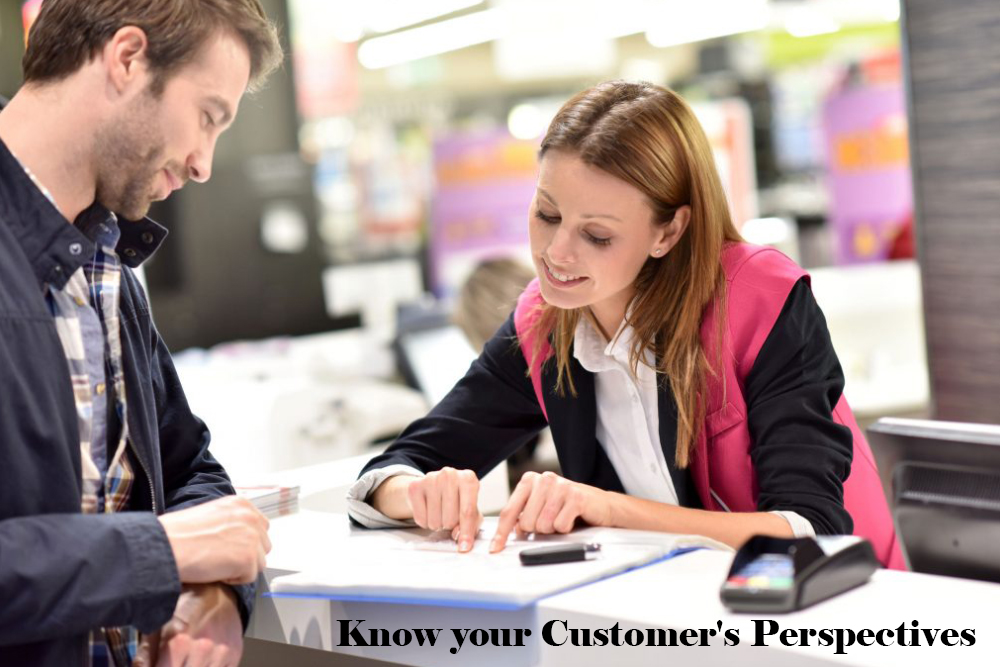 Know Customer's Perspectives