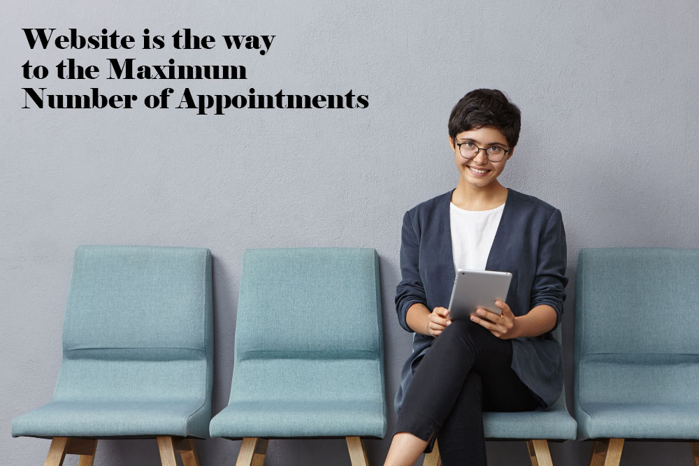 Maximum Number of Appointments with Website
