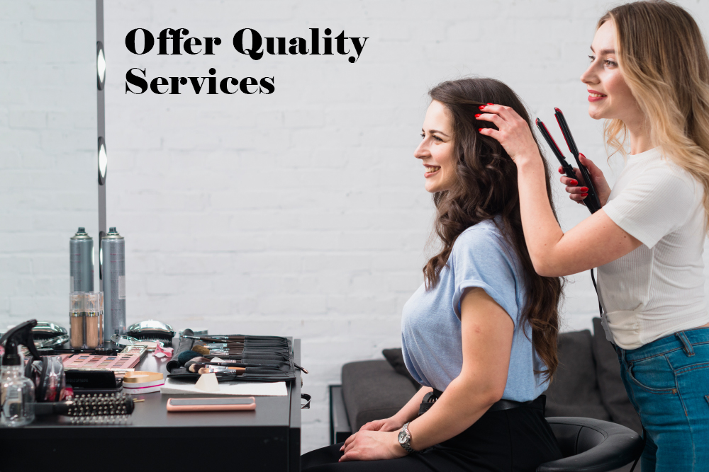 offer quality services