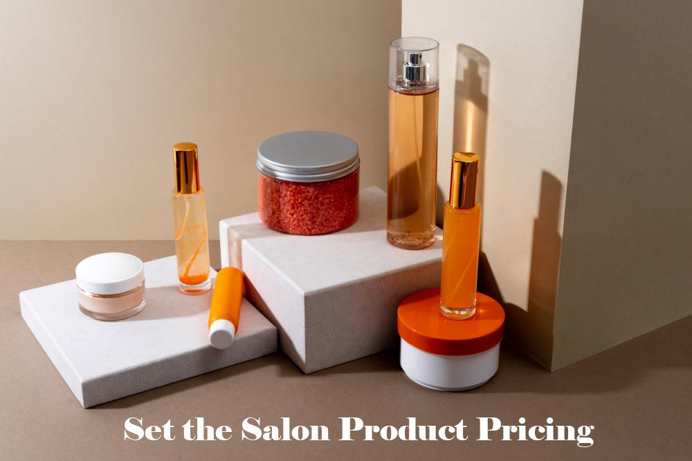 Salon product pricing