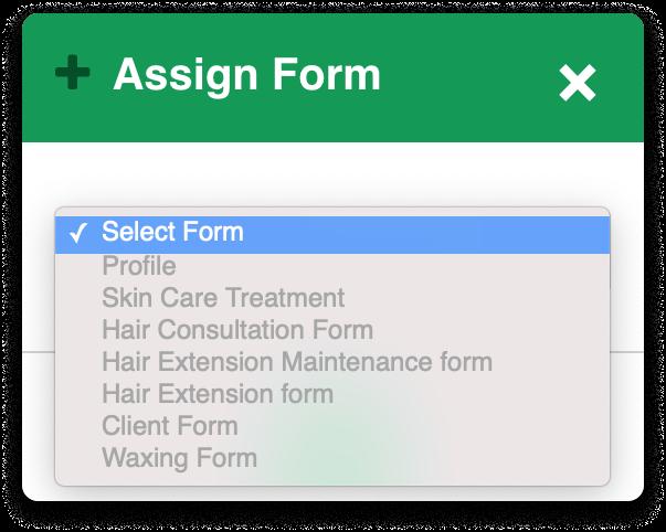 assign form